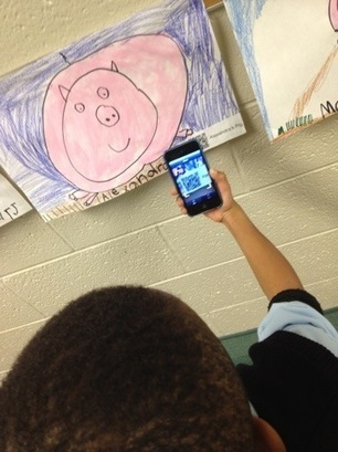 Kindergarten Pink Pigs with QR Code Stories | Pixels and Paint Brushes | Audioboo | Scoop.it