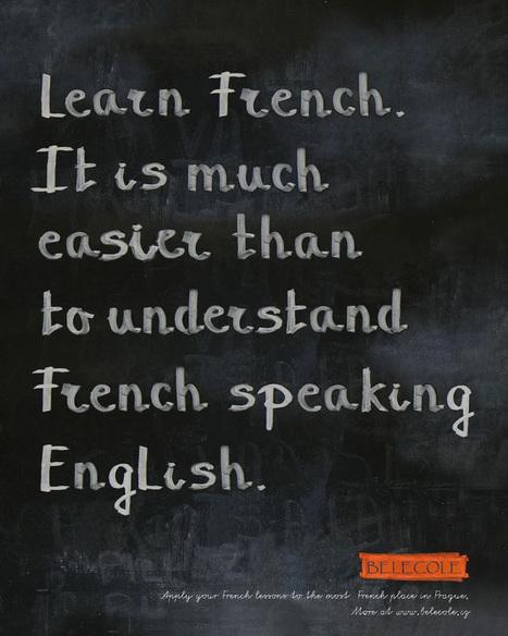 [FLE humour] Apprenez le français car… | FLE: CULTURE ET CIVILISATION-DIDACTIQUE | Scoop.it