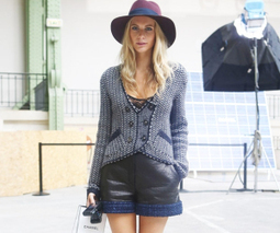 Poppy Delevingne hatted at Chanel | Fashion Passion | Scoop.it