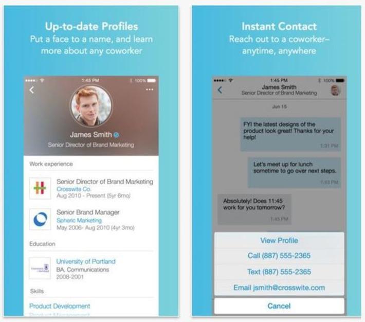 LinkedIn Lookup : l'annuaire social de votre entreprise... La fin des organigrammes et des collègues mytho ? | Solutions locales | Scoop.it