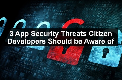 3 App Security Considerations Citizen Developers Should Know About   Latest Technology Trends   Scoop.it