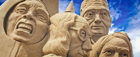 Weston Sand Sculpture Festival | Strange days indeed... | Scoop.it
