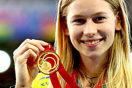 Eleanor Patterson wins gold in women's high jump   Yr 9 Sociology in Sport   Scoop.it