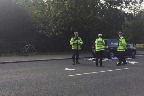 Cyclist saved by hero police officer after smashing into parked car | Policing news | Scoop.it