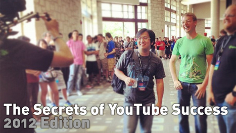 The Secrets of YouTube Success – 2012 Edition | Afstudeeronderzoek IG | Scoop.it