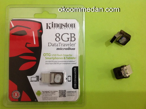 Flash disk kingstone micro duo 8 Gb | TOKO KOMPUTER ONLINE DIMEDAN | Scoop.it