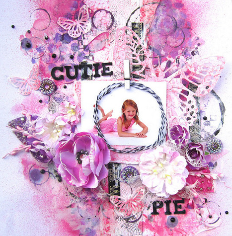Expressing from my Heart and Soul: Cutie Pie- 13 Arts September Reveal part 1 | Crafting | Scoop.it