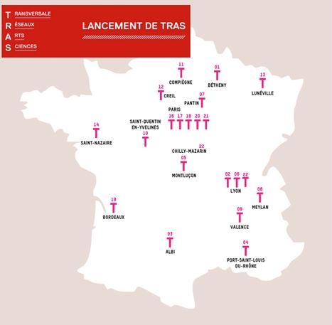 11.07.2016 - Lancement de TRAS - La Transversale des Réseaux Arts Sciences // #ArtSci #mediaart | Digital #MediaArt(s) Numérique(s) | Scoop.it
