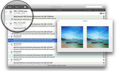 Singlemizer | Minimalist Duplicate Files Finder for OS X. Yet With Features | Mac Tech Support | Scoop.it