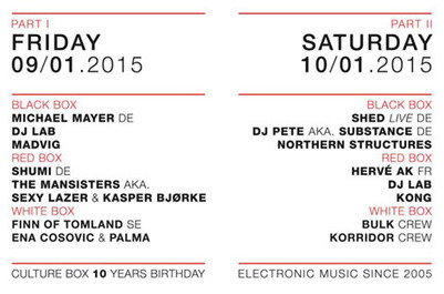 Culture Box turns ten with Michael Mayer and Shed | DJing | Scoop.it