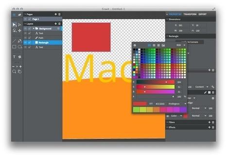 Gravit, successeur spirituel et open source de Freehand | Web mobile - UI Design - Html5-CSS3 | Scoop.it