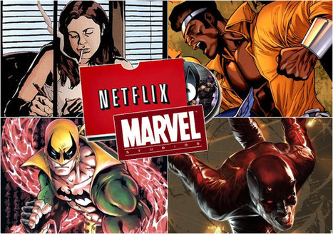 What Does The Netflix Partnership Mean For The Marvel Universe? 7 Points To Consider | Digital Cinema - Transmedia | Scoop.it