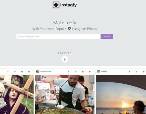 Instagfy, le preferite di Instagram in uno slideshow | Twitter, Instagram e altri Social Media | Scoop.it