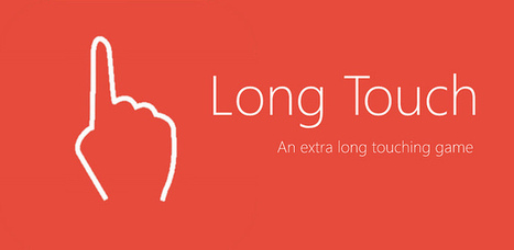 Long Touch - Android game to test your patience   Bbroy   Scoop.it