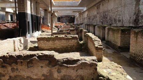 Italy unearths huge Roman barracks during Rome metro dig - BBC News | Museum & heritage news - Actualités & découvertes musées et patrimoine | Scoop.it