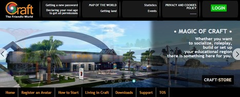 Craft World -3D world built by its citizens running OpenSimulator   Second Life and other Virtual Worlds   Scoop.it