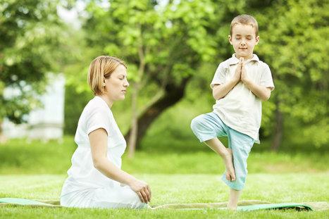 El yoga ayuda a niños inquietos | Salud Natural | Scoop.it