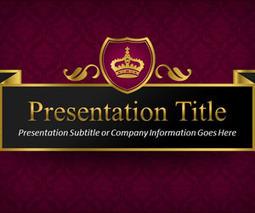 Queen PowerPoint Template   slidehunter.com   puchita   Scoop.it