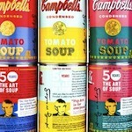 "Campbell's Unveils Warhol-inspired Cans along with the ""Art of Soup"" FB App 