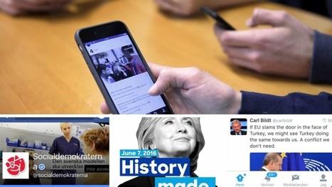 Sociala medier och politiker – mer digitalt ryggdunkande än demokratisk dialog - Vetenskapsradion   Kommunikation och mediebruk   Scoop.it