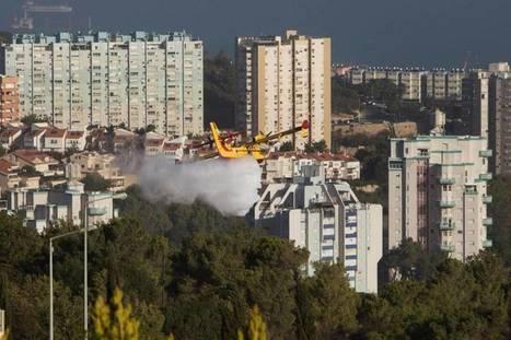 Avions étrangers et Palestiniens à l'aide d'Israël face à des feux exceptionnels | About Geopolitics | Scoop.it