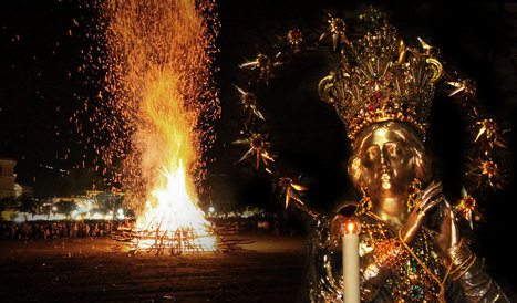 A little-known Immacolata tradition: The bonfires | Le Marche another Italy | Scoop.it