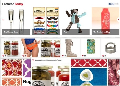 Content Curation for Commerce Sites: Three Great Examples At Work | Managing options | Scoop.it