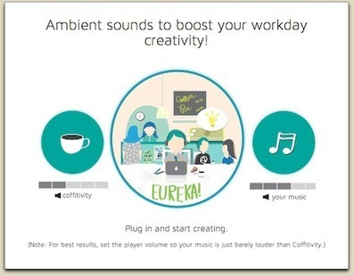 Cafe Sounds Anywhere You Go | Office Environments Of The Future | Scoop.it