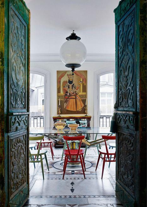 Décoration du monde chez Christian Louboutin… | décoration & déco | Scoop.it