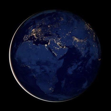 H Αθήνα λάμπει στο Διάστημα | Vera Dakanali | Scoop.it