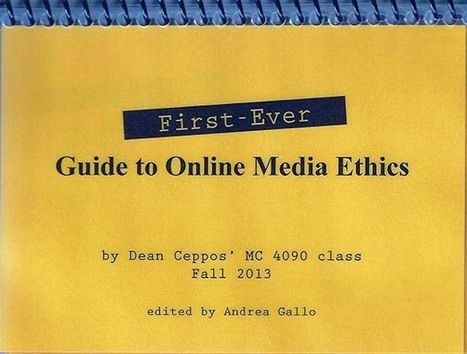 MU Presents Arabic Online Media Ethics Guide | Media Unlimited | Ethic it! | Scoop.it