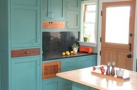 From the Pros: How to Paint Kitchen Cabinets | Inspirational Interiors | Scoop.it