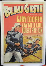 Movie Poster One Sheet Beau Geste 1939 | New & Vintage Collectibles | Scoop.it