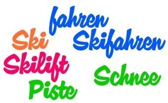 Skiwortschatz — German Ski Vocabulary   German Language Learning   Scoop.it