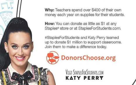 Support teachers with @Staples and Donorschoose.org | Durff | Scoop.it