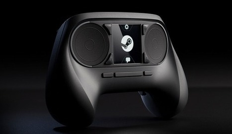 Le Steam Controller de Valve subit une refonte et se rapproche un peu plus d'une manette classique | Innovation jeux-vidéo, jeux-vidéo next-gen | Scoop.it