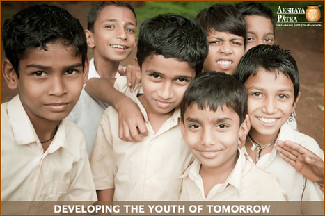 Today's Healthy Children, Tomorrow's Thinking Youth | Akshaya Patra Foundation kitchens- Beyond just cooking! | Scoop.it