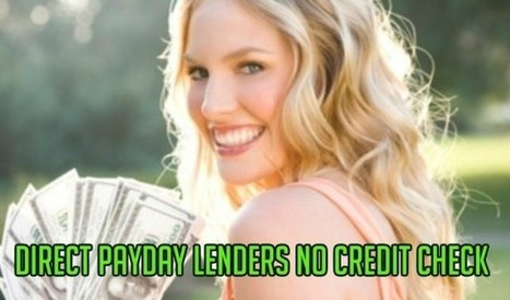 Ace Payday Lenders No Credit Check | lejandrooh | Scoop.it