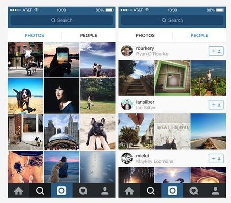 Instagram adds People tab and a way to fix your mistakes | Stratégie Digitale et entreprises | Scoop.it