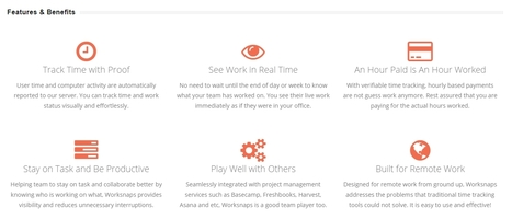 Worksnaps: Verifiable Time and Work Tracking Features and Benefits | Business, Telecommuting and Productivity | Scoop.it