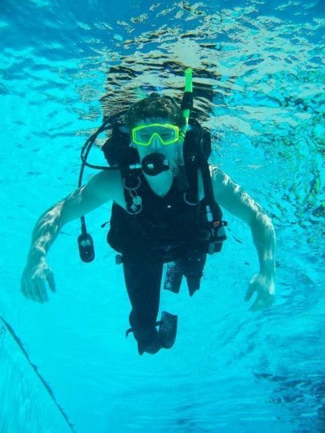 CHS students dive for science - Calaveras Enterprise | ScubaObsessed | Scoop.it
