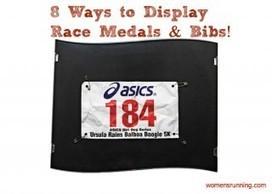 8 Ways to Display Your Race Medals & Bibs! | Marathon Running Tips | Scoop.it