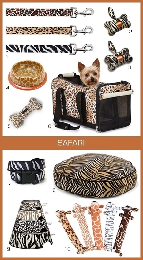 Amazing animal print dog products!   Dog Products   Scoop.it