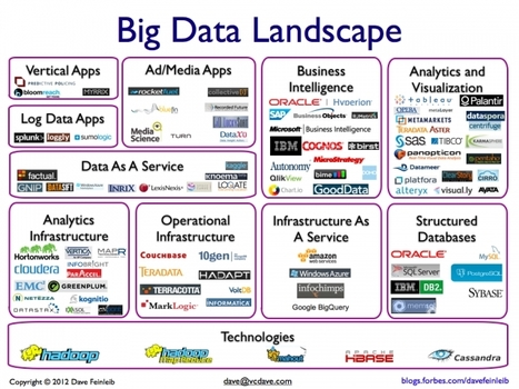The Big Data Landscape - Forbes | Visualisation | Scoop.it