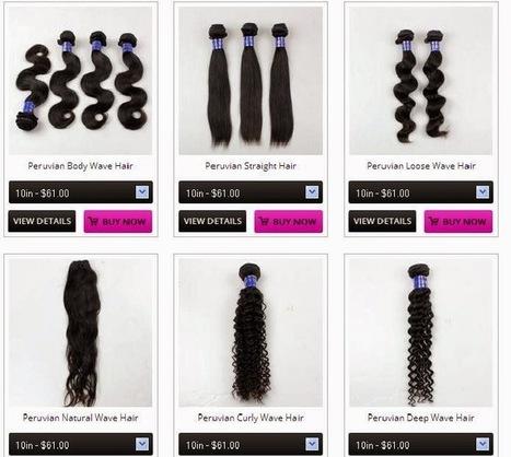 Best Beauty Virgin Hair: Buy Online Virgin Peruvian Hair at the Lowest Price - Best Beauty Virgin Hair   Buy Virgin Brazilian Wave Hair   Scoop.it