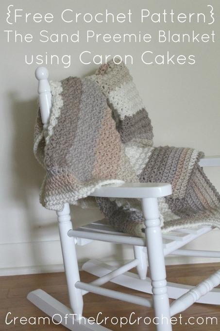 The Sand Preemie Blanket Pattern ~ Cream Of The Crop Crochet™ | Free Crochet Patterns | Scoop.it