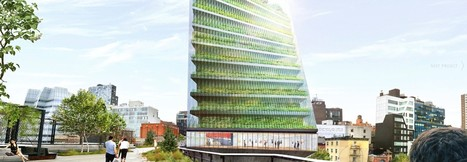High-rise condos with 10 floors of indoor farming terraces proposed near NY's High Line park | Vertical Farm - Food Factory | Scoop.it
