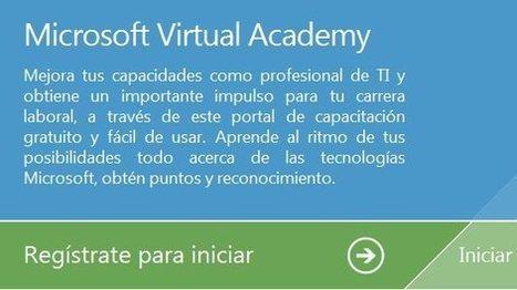Capacitate en linea con la Academia Virtual de Microsoft   RINTE   Scoop.it