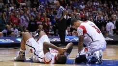 Louisville's Ware suffers gruesome leg injury | Basketball Players | Scoop.it