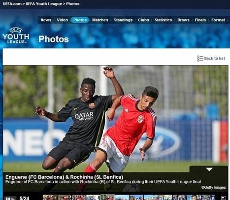Quatro jogadores do Benfica no onze ideal da UEFA Youth League   Benfica   Scoop.it